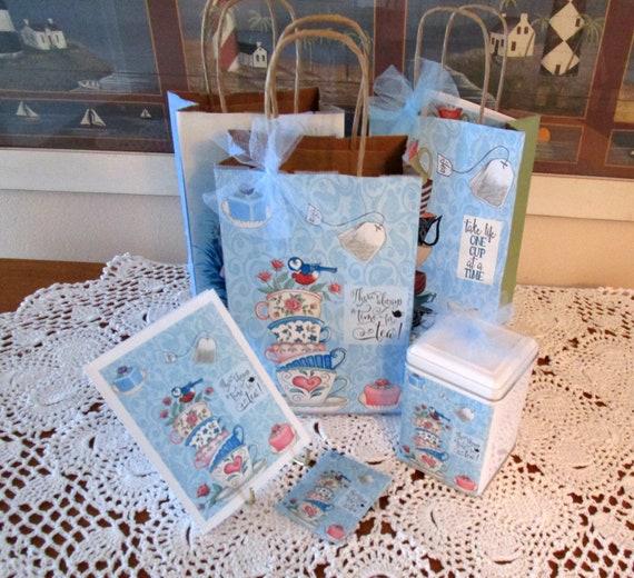 Always Time For Tea Gift Bag Set