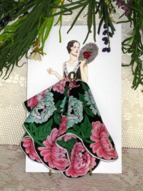 1926 Lanvin Picture Dress