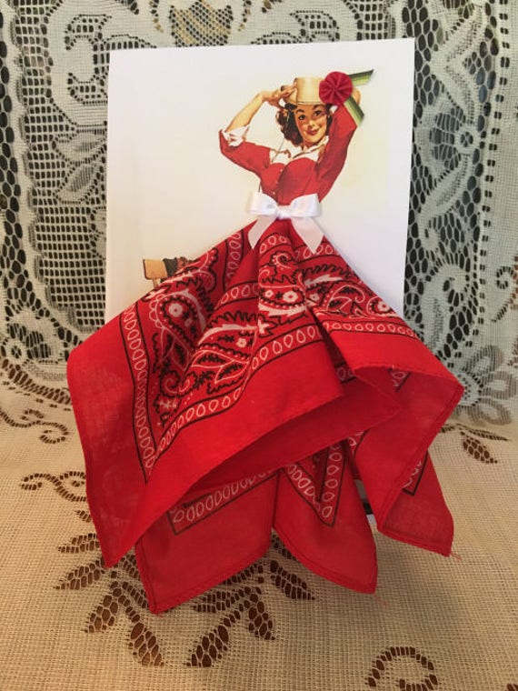 It's All About the Hat Cowgirl Hanky Card
