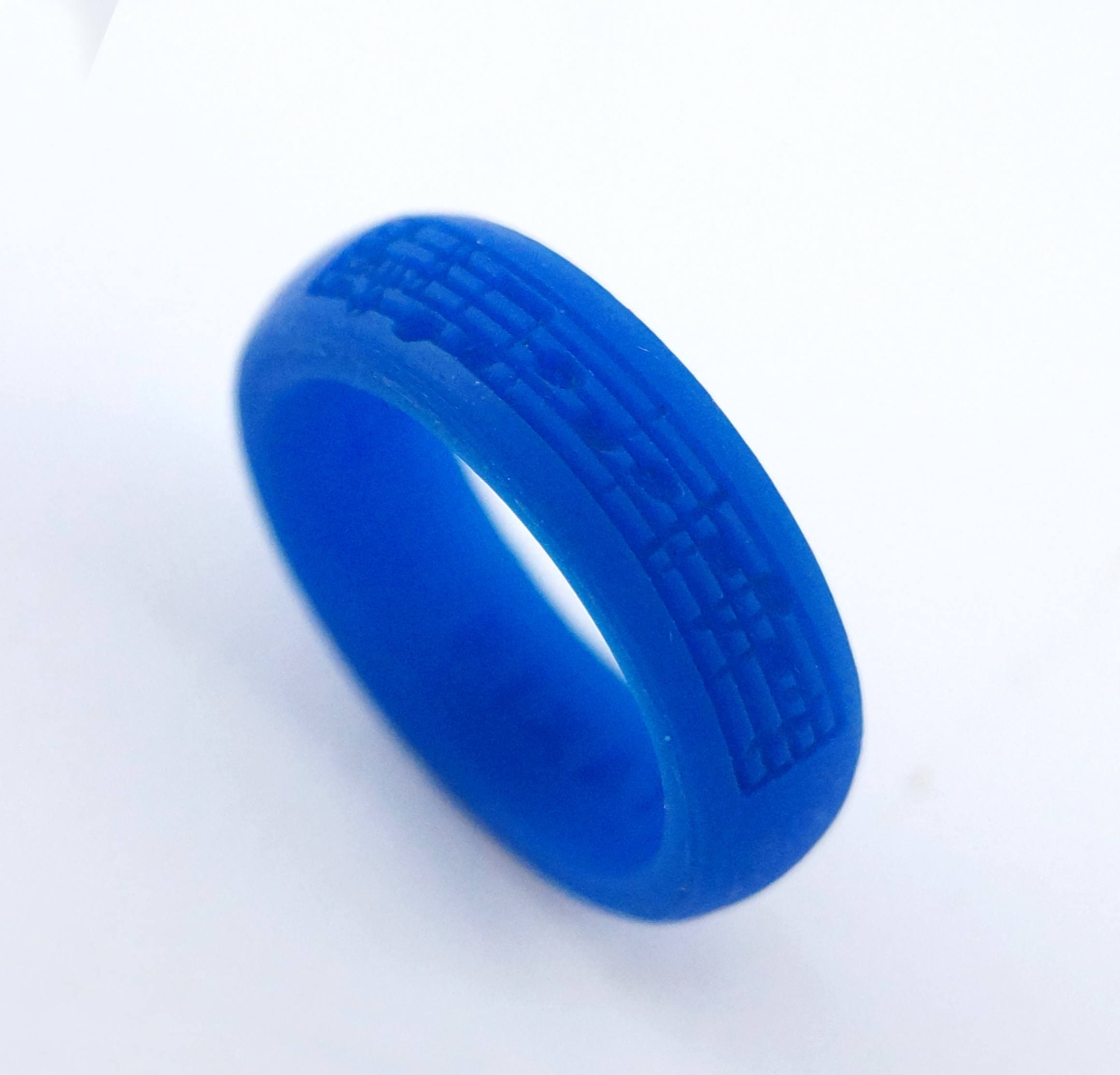 Custom Silicone Music Note Ring Band Athlete Ring