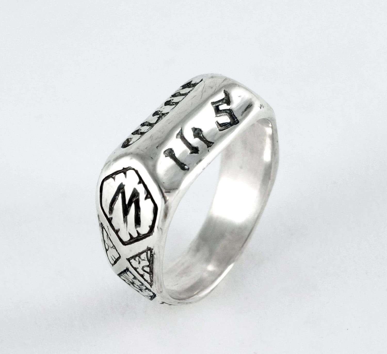 Replica Saint Joan of Arc Devotional Ring Medieval Ring First ... b3cda58113d2