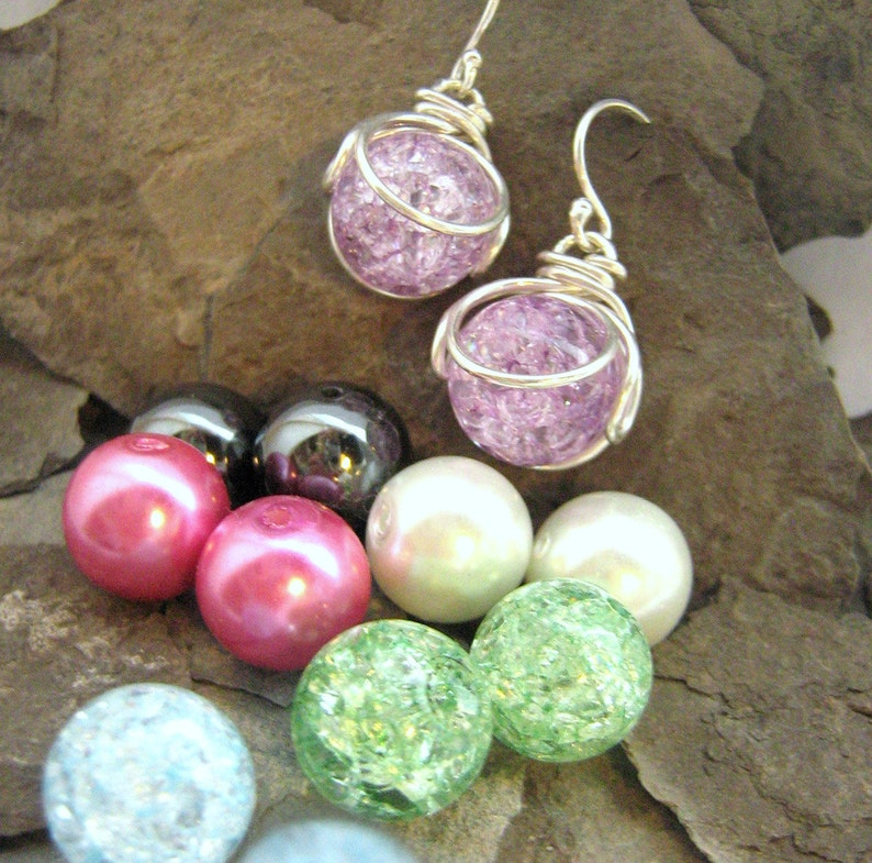 Pop In Earrings  Interchhangeable  Versatile  Comes with 10 image 0