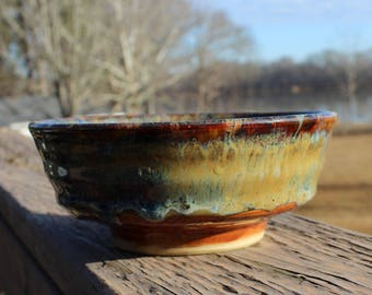 Offering Bowl - brown multicolors