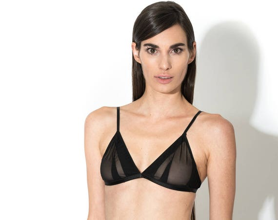 Wireless bra lingerie, triangle bra.