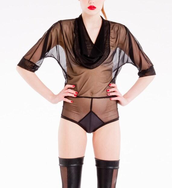 Bodysuit Lili, bodywear, See Through Lingerie.