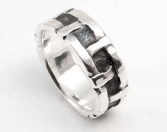 Clench Ring - silver