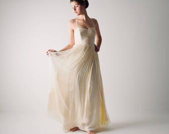 Yellow wedding dress   Etsy