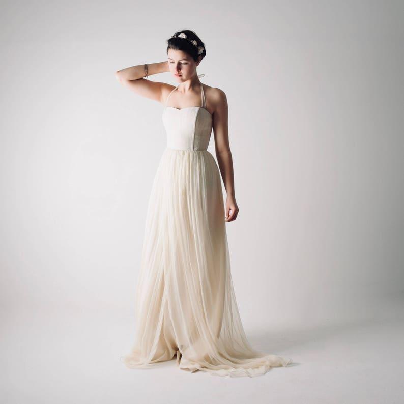 5114d9969339 Wedding dress Hemp wedding dress Boho wedding dress Simple