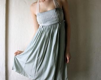 Pearl Grey Dress