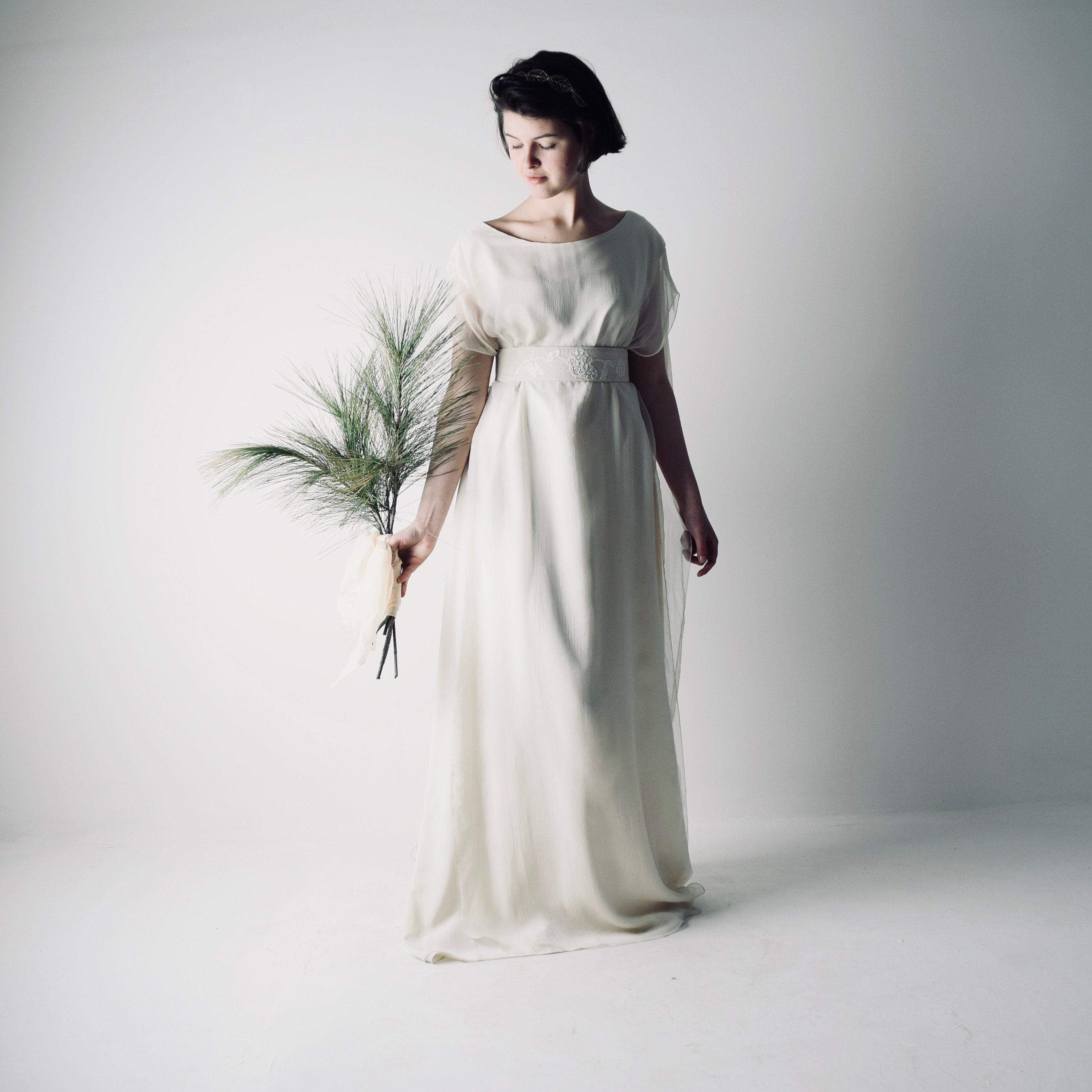 Pagan Wedding Dresses.Boho Wedding Dress Bohemian Wedding Dress Pagan Wedding Dress Casual Wedding Dress Alternative Wedding Simple Wedding Dress Hedera