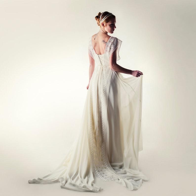 2523e71d415d Lace overlay Wedding dress Lace dress Lace wedding dress | Etsy