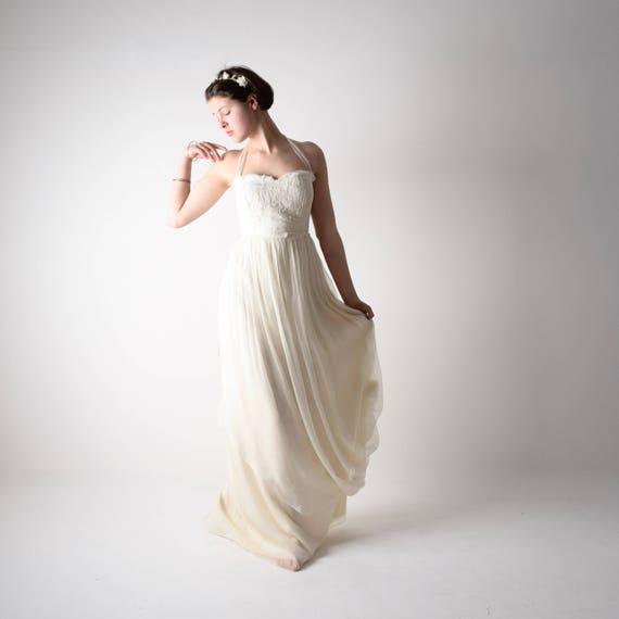 Wedding dress, boho wedding dress, Bohemian Wedding dress, Beach Wedding  dress, Maternity wedding dress, Plus size wedding dress, AMARYLLIS