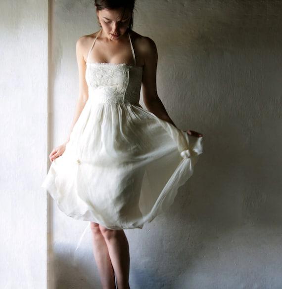 Short Wedding Dress Alternative Wedding Dress Hippie Boho Etsy