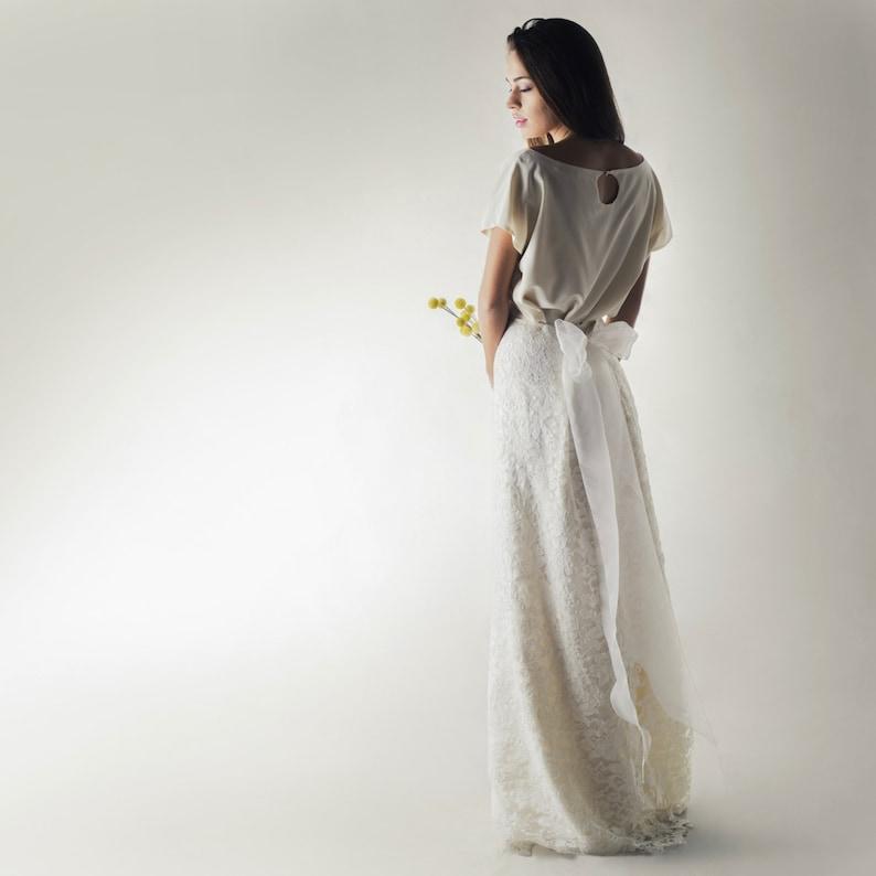 bc731b853fd2 Wedding skirt Lace skirt Wedding dress separates Bridal | Etsy