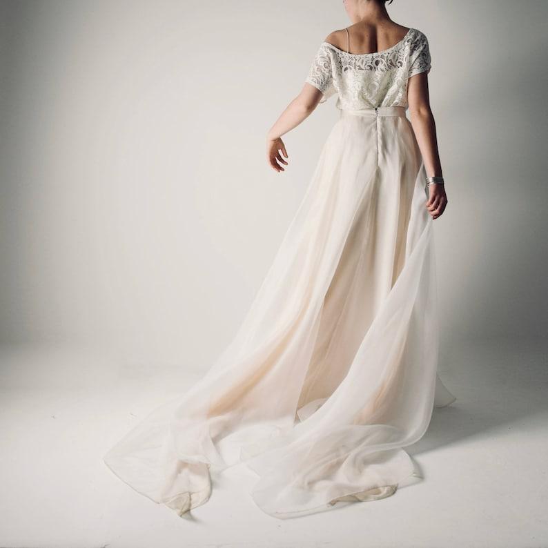 cc1f1e07e523 Wedding skirt Boho wedding dress separates Wedding dress | Etsy