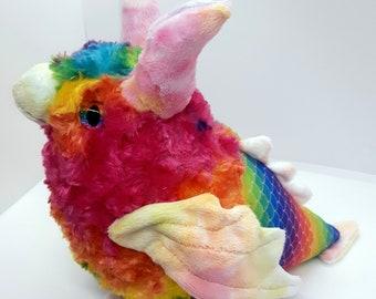 PRE-ORDER: Pride Cockatrice Chicks - Queer - LGBTQA - lgbt - Gay Bi Lesbian Trans Nonbinary Ace Pan