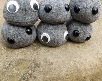 PRE-ORDER - Pet Rock - Weighted Plush - Autism Anxiety - Therapy