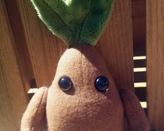 OOAK Mandrake Root - Faerie Garden  - Autism Anxiety - Therapy