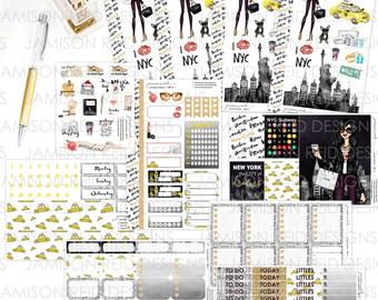 I Heart NY  Sticker Set | Choice of skintone/haircolor