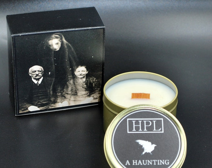 A Haunting -  Horror Candle | Ghost Candle | Haunted Candle | Vegan Friendly Candle | Gothic Soy Candle