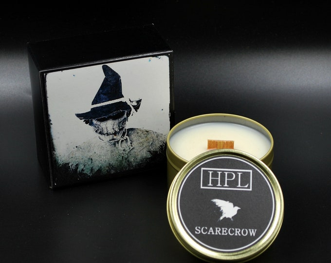 Scarecrow -  Creepy Horror candle |  Haunted Candle | Vegan Friendly Candle | Horror Candle | Gothic Soy Candle