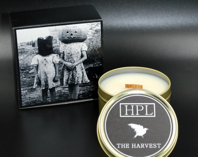 The Harvest -  Fall Horror Candle | Haunted Candle |  Vegan Friendly Candle | Horror Candle | Gothic Soy Candle