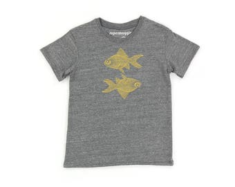 Double Goldfish Kids Tee