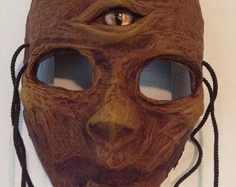 The Seer - Wearable wall hanging Mask (OOAK)