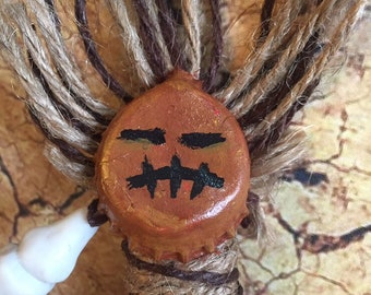 Post Apocalyptic Wasteland Witch Bane Totem Pin 6