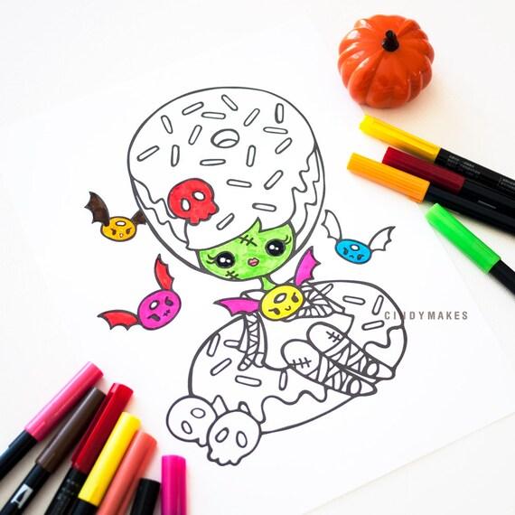 Artículos similares a INSTANTÁNEA DESCARGAR – Halloween la novia de ...