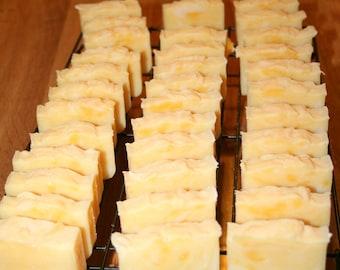 10 Lemongrass & Lavender Soap Bars Wedding Shower Favors