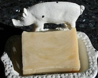 Winter Butter Bar, All Natural Soap, Handmade Soap, eczema soap, 5 oz