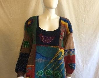 73ddae86fad623 50% Off Closing SALE Farmer Farm Sweater