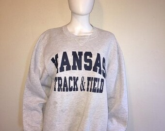 0773060d82e SALE Closing shop SALE Kansas State University Track   Field sweatshirt XL  Russell Athletic