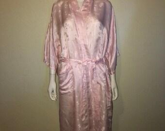 43aaf477bf76 SALE Closing Shop SALE SILK Asian pink robe kimono