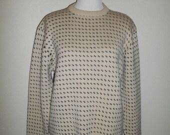 7c865f0a826 SALE Closing shop SALE Sierra Designs WOOL knit pullover Sweater jumper  Vintage size medium large