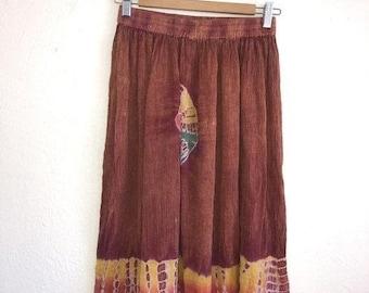 SALE Closing Shop SALE 90s boho hippie midi skirt