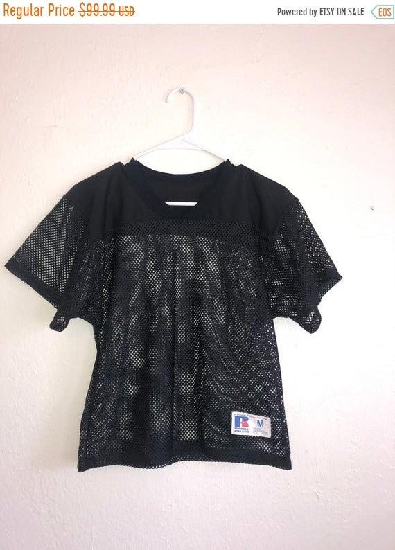 SALE Closing Shop SALE Black mesh jersey top shirt