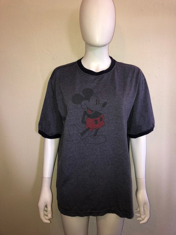 Mickey Mouse Blue t shirt