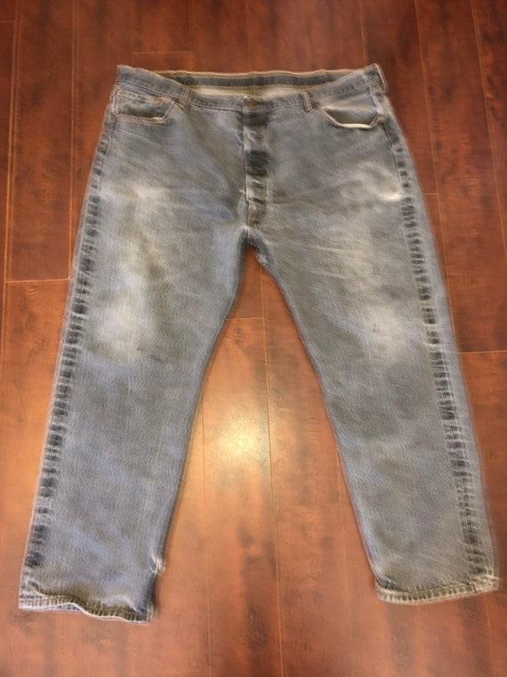 Black gray Levis 501  Levis jeans 501 button fly