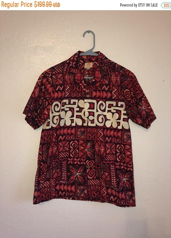 Black Friday Cyber SALE Vintage Hawaiian shirt 50… - image 1
