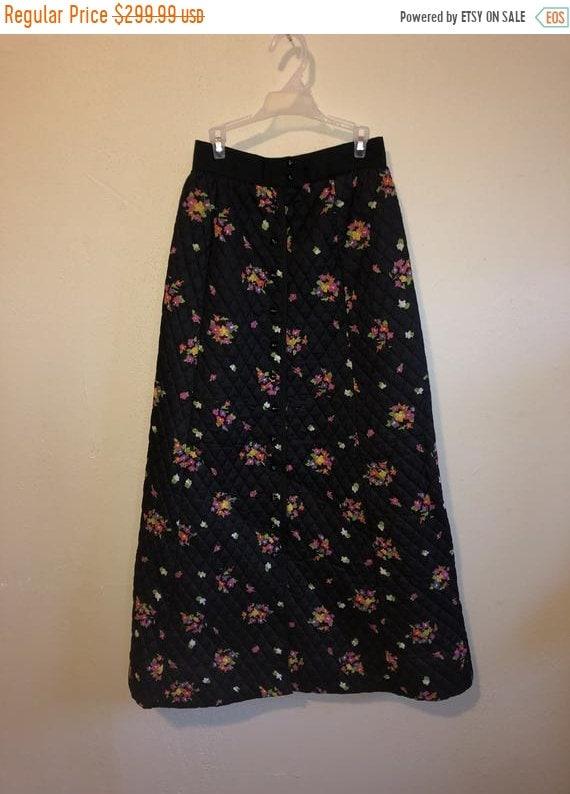 SALE Closing Shop SALE 70s prairie boho hippie skirt