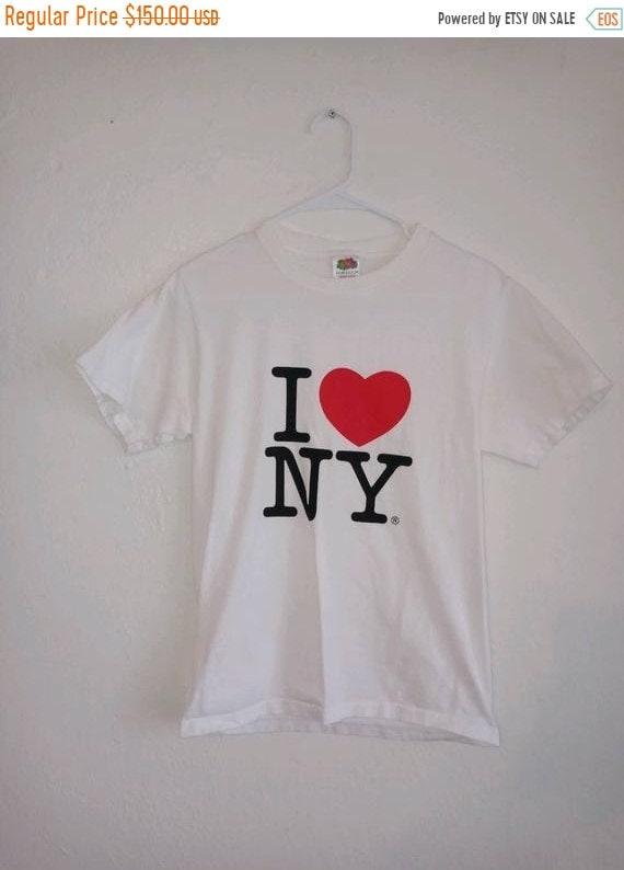 SALE Closing Shop SALE 90's t shirt I love Ny  New