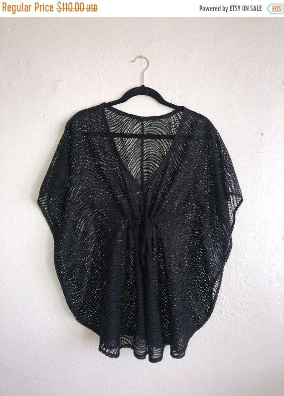 SALE Closing Shop SALE Black bathing suit cover up