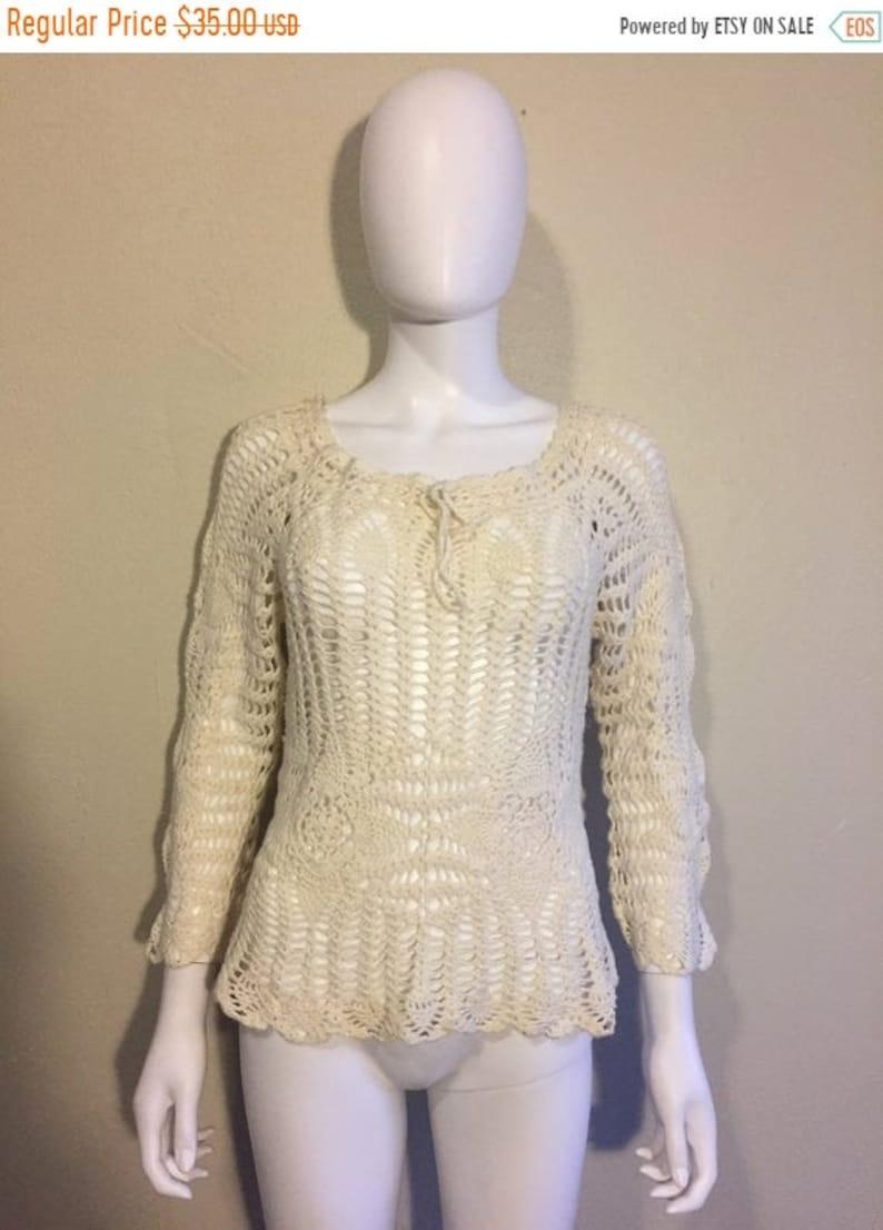 SALE Closing Shop SALE sweater top shirt knit crochet sweater