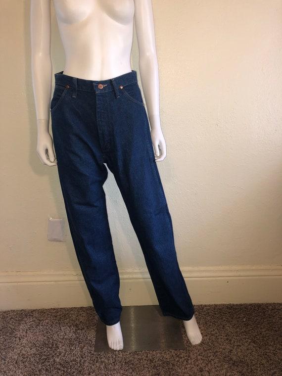 Women's Wrangler blue jeans waist W