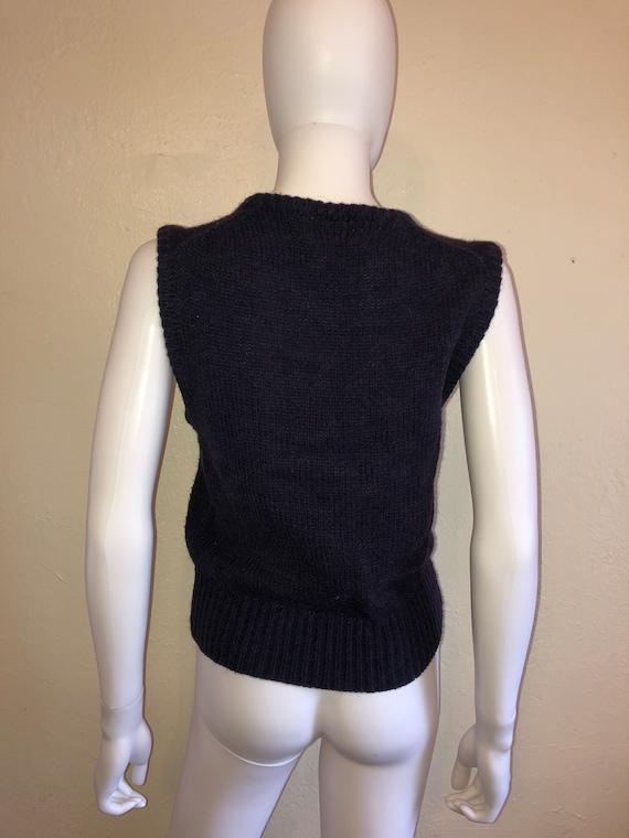 Black Friday Cyber SALE Vintage sweater vest Ducks - image 5