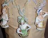 Taking Custom Orders Floradora Girl Layer Cake Boudoir Doll Necklace a Boudoir Queen Original 2007 design limited time