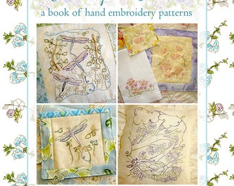 Hand Embroidery Pattern Book Sketches from Nature