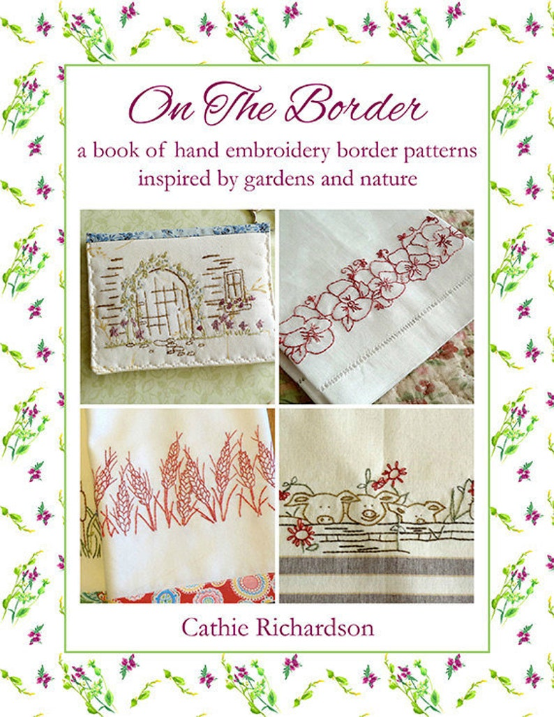 Kitchen Towels Hand Embroidery Pattern Book image 0